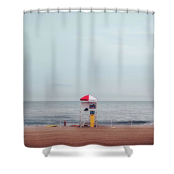 Lifeguard Stand Shower Curtain