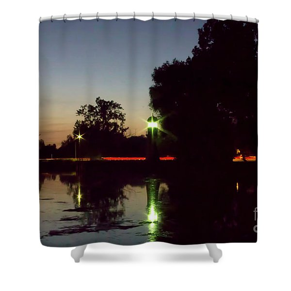 Lighthouse Light Shower Curtain