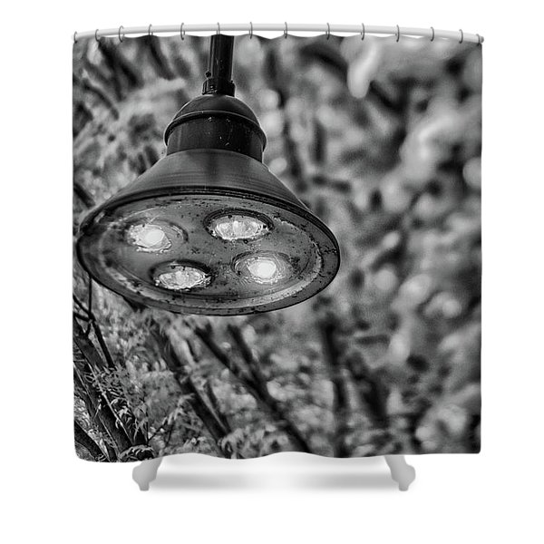 Lights In Town Shower Curtain