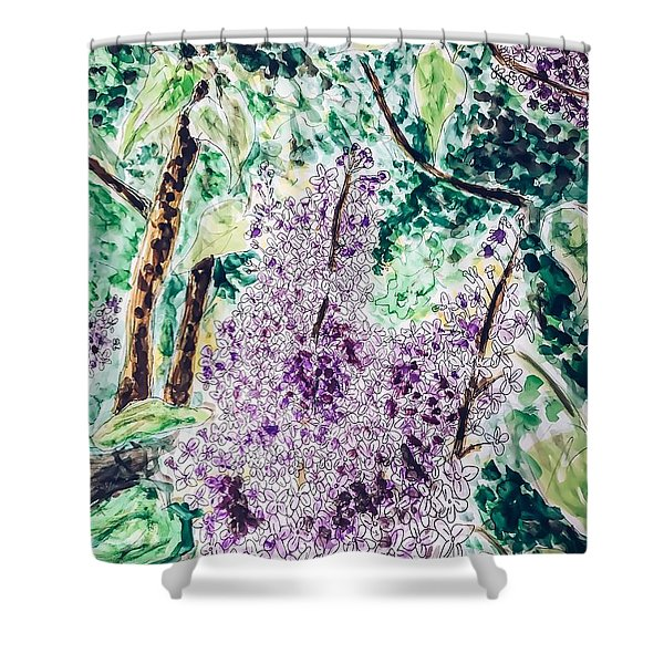 Lilac Dreams Shower Curtain
