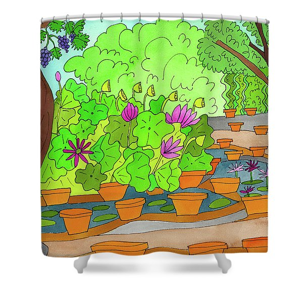 Lilies Shower Curtain