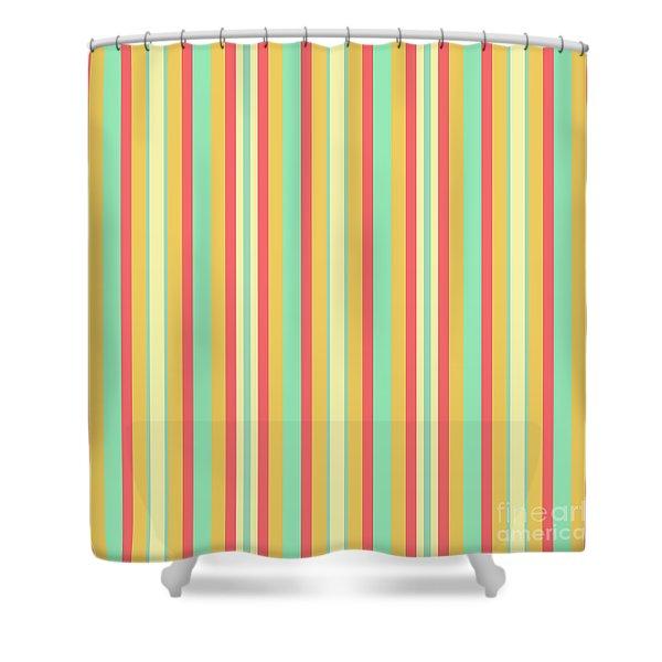 Lines Or Stripes Vintage Or Retro Color Background - Dde589 Shower Curtain