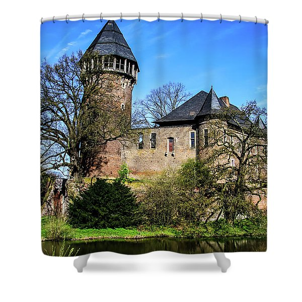 Linn Castle Shower Curtain