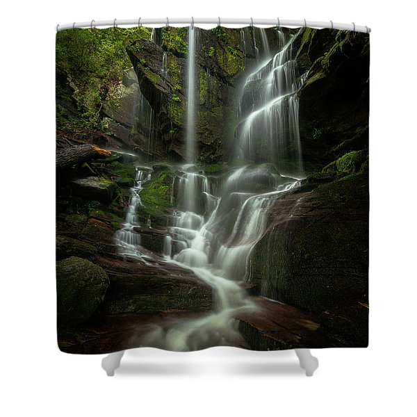 Linville Gorge - Waterfall Shower Curtain