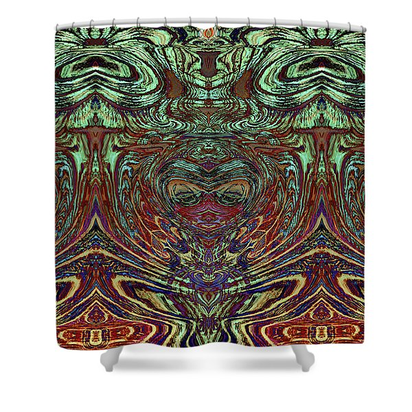 Liquid Cloth 2 Shower Curtain