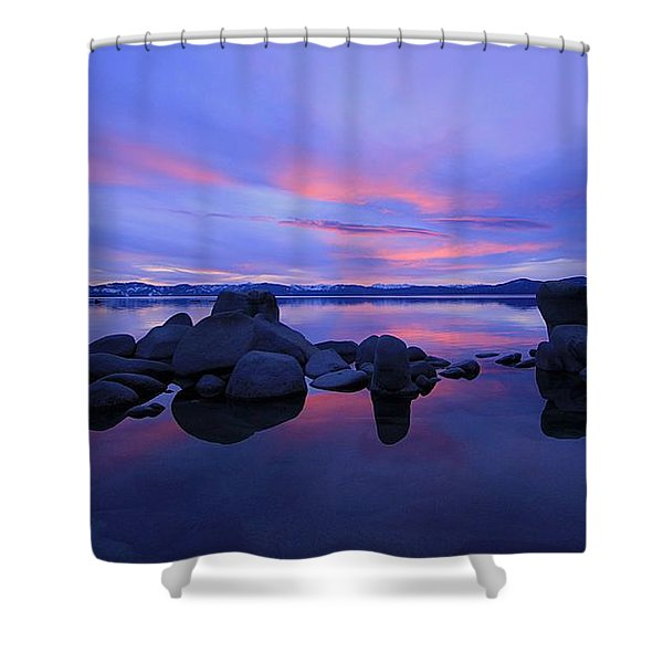 Shower Curtain featuring the photograph Liquid Serenity  by Sean Sarsfield