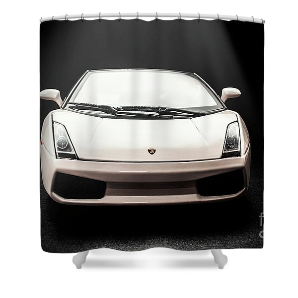 Lit Luxury Shower Curtain