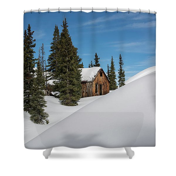 Little Cabin Shower Curtain