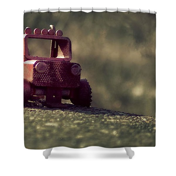 Little Engine That Could Shower Curtain