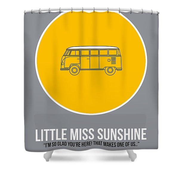 Little Miss Sunshine Shower Curtain