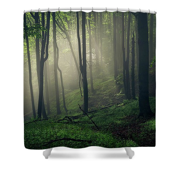 Living Forest Shower Curtain