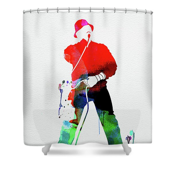 Ll Cool J Watercolor Shower Curtain