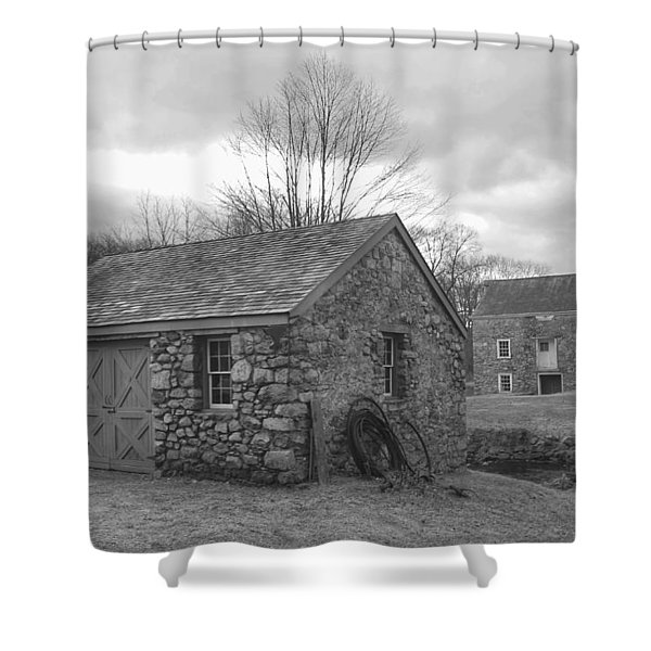 Lock House And Store - Waterloo Village Shower Curtain