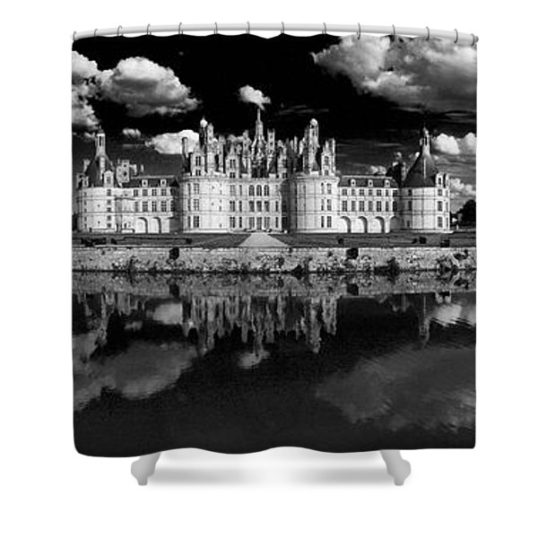Loire Castle, Chateau De Chambord Shower Curtain