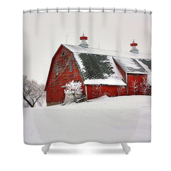 Lone Barn Shower Curtain