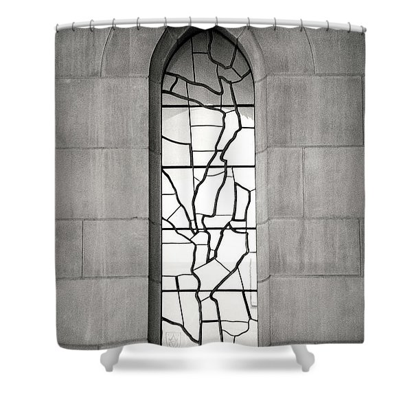 Lone Cathedral Window Shower Curtain