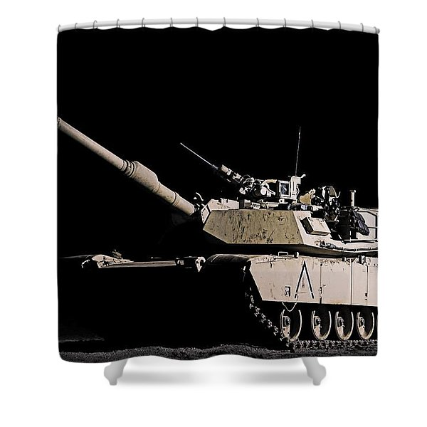 Lonely Nights Shower Curtain