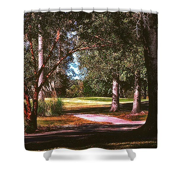 Shower Curtain featuring the photograph Long Shadows by Gerlinde Keating - Galleria GK Keating Associates Inc