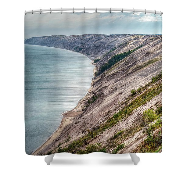 Long Slide Overlook Shower Curtain