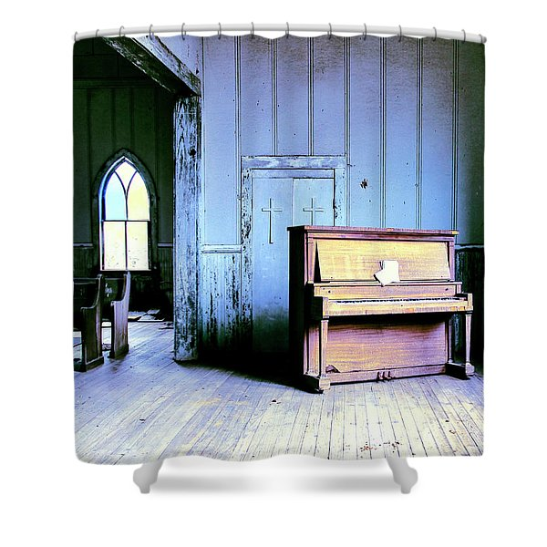 Losing My Religion Shower Curtain
