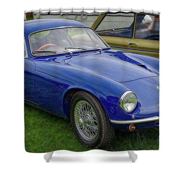 Lotus Elite 1965  Shower Curtain