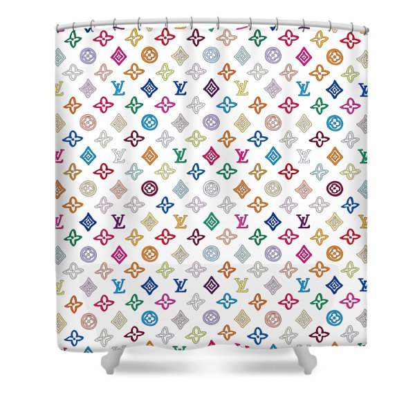 Louis Vuitton Monogram-1 Shower Curtain