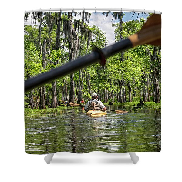 Louisiana Bayou Shower Curtain