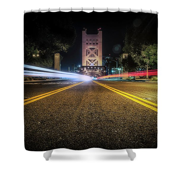 Love Is A Two Way Street Shower Curtain