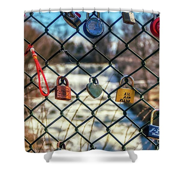 Love Locks Shower Curtain