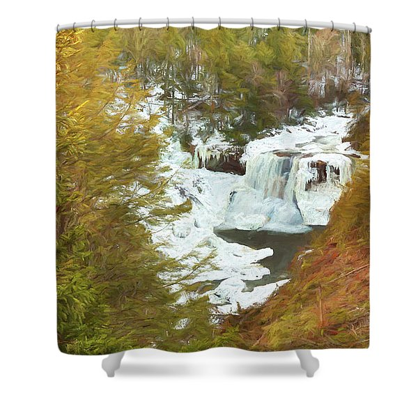 Love This Life Shower Curtain