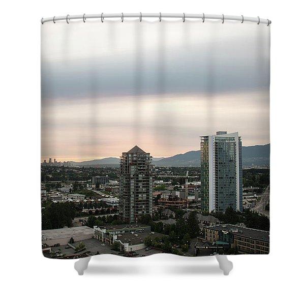 Lowe Mainland Dusk Shower Curtain
