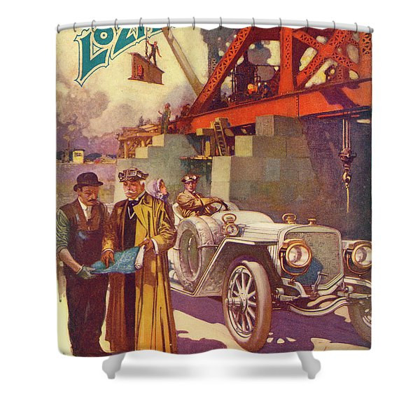 Lozier Advertisement Shower Curtain