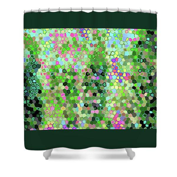 Luka 1006 Mosaic Shower Curtain