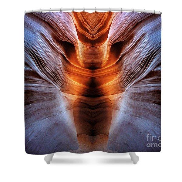 Luminous Canyon Shower Curtain