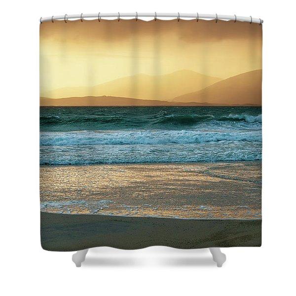 Luskentyre Views Shower Curtain