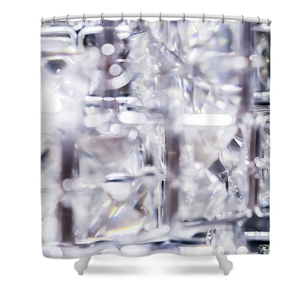 Luxe Moment V Shower Curtain