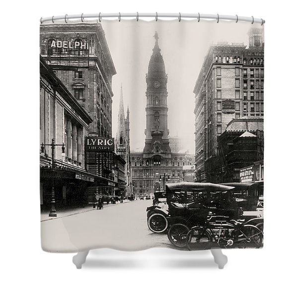 Lyric Theatre Shower Curtain