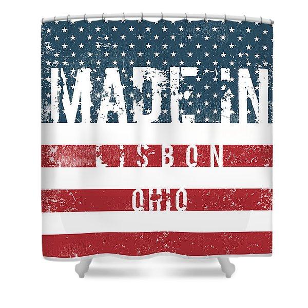 Made In Lisbon, Ohio #lisbon Shower Curtain
