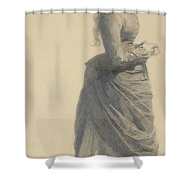 Mademoiselle Eugenie, 1877 Shower Curtain