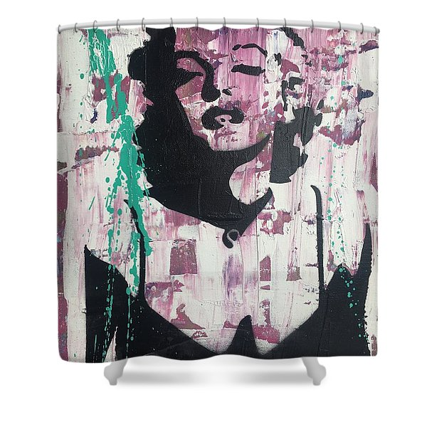 Madness Is Genius Shower Curtain