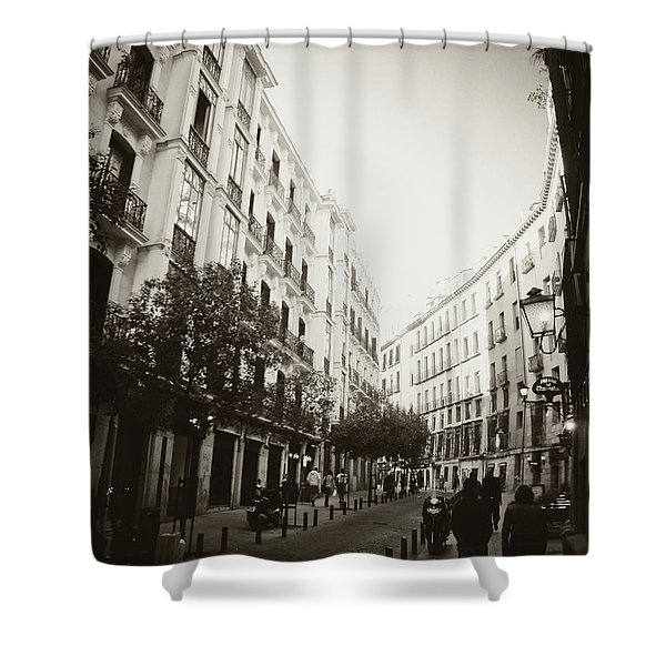 Madrid Afternoon Shower Curtain