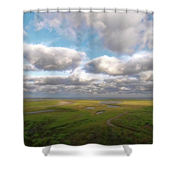 Maggies Cove Shower Curtain