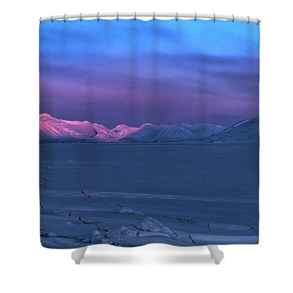 Magic Artic Shower Curtain