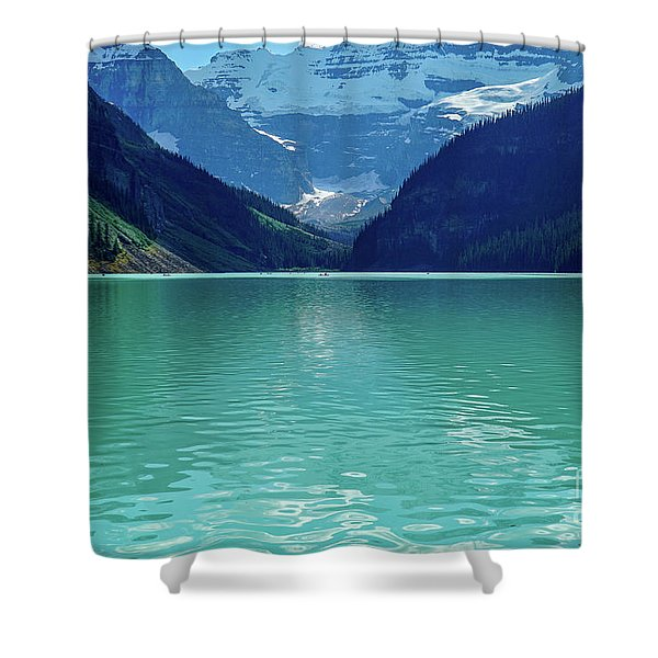 Magic At Lake Louise Shower Curtain