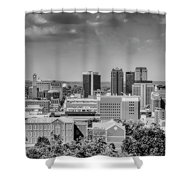 Magic City Skyline Shower Curtain
