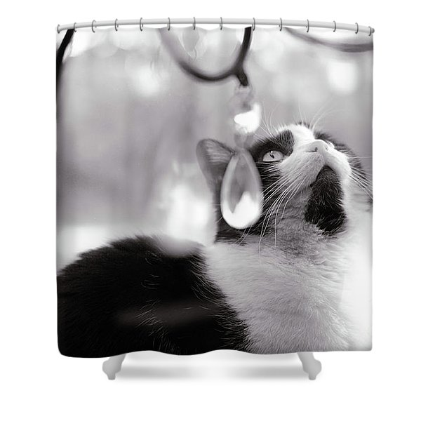 Magic Crystals Shower Curtain