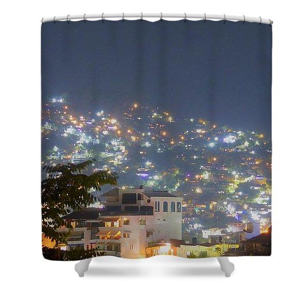 Magic Of Zihuatanejo Bay Shower Curtain