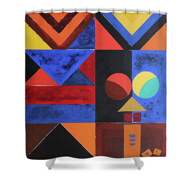 Magical Lines  Shower Curtain