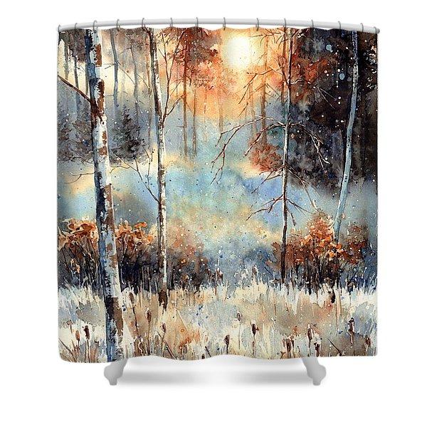 Magical Sun Shower Curtain