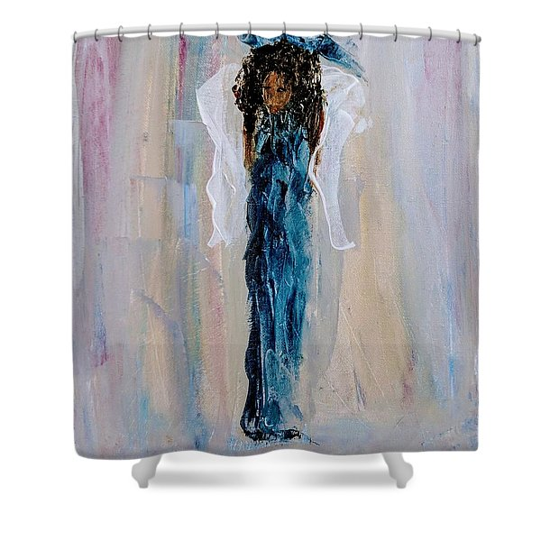 Magnificent Angel Shower Curtain